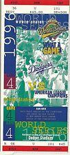 1996  Los Angeles Dodgers Phantom World Series Ticket Game 4