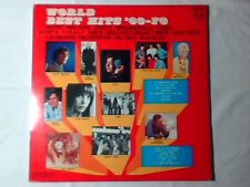 LP WORLD BEST HITS '69-70 VICKY LEANDROS JANE BIRKIN SERGE GAINSBOURG TONICS