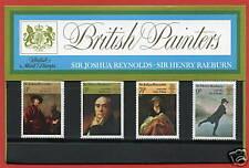1973 British Paintings Presentation Pack