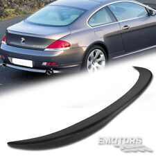 SHIP FROM LA Unpainted BMW E63 6-Series 2D V Type Trunk Spoiler Wing 645ci 04-08