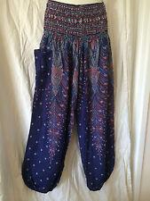 Ladies Boho Harem Pants Summer Plus Size 16 18 20 Also Maternity BNIP [PS-DBP]