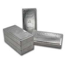100 oz Silver Bar - Brand Name (Stackable/Secondary Market)