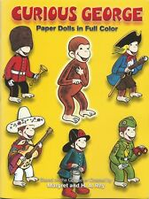 Curious George Paper Dolls in Full Color  NEW