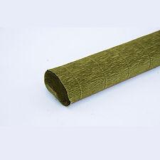 Mid Green 565 Crepe Paper Roll 50cm x 2.5m Top Quality Italian Paper