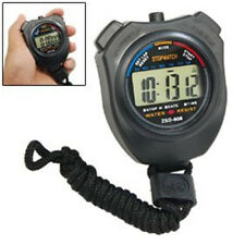 Professional  Como Digital Chronograph Sports Stopwatch with Neck Strap Timer