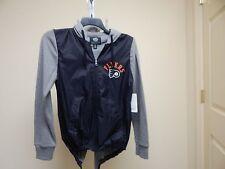 Philadelphia Flyers WOMEN'S Black/Grey Full Zip Hooded Sample Jacket M G-III