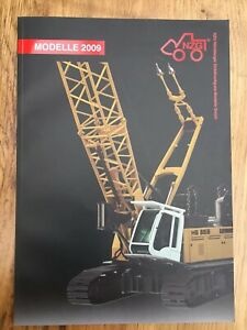 NZG 2009 Main A4 colour catalogue Trucks and construction machinery 104 pages