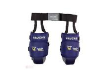 New Vaughn V6 1100i Ice Hockey Goalie Intermediate knee thigh guard pads Navy