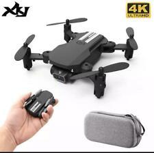 XKJ 2020 חדש מיני Drone 4K 1080P HD מצלמה WiFi Fpv אוויר לחץ אחיזת גובה שחור ואפ