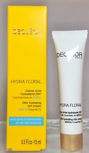 Decleor Hydra Floral 24hr hydrating rich cream 15ml