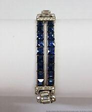 Art Deco Retro Costume Jewelry Bracelet Sparkler