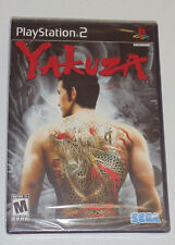 Yakuza (Sony PlayStation 2, 2006) PS2 rare game NEW FACTORY SEALED 1st print