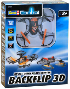 NEW REVELL BACKFLIP 3D UPSIDE DOWN QUADCOPTER DRONE REMOTE CONTROL