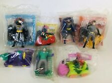 McDonald's Happy Meal 1993 Batman Animated Series - Seven Characters