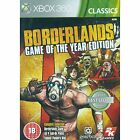 BORDERLANDS GAME OF THE YEAR EDITION (CLASSICS) 2 DISKS | Microsoft | XBOX 360