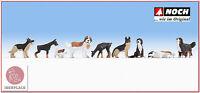 N escala 1:160 figuras modelismo maqueta trenes Noch 36717 perros chiens dogs