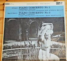 Ace Of Clubs Chopin Piano Concerto No1 Gulda LPO Saint Saens Piano No2 ACL94
