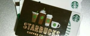 STARBUCKS GIFT CARD $60 PHYSICAL CARDS ONLY PLEASE READ