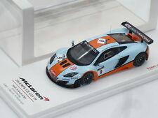 1:43 TSM Resin Handbuilt McLaren MP4-12C GT3 24Hours Spa Gulf Oil Senna GT50 917