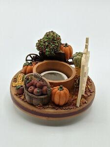 Candle Capper Our America Jar Topper Autumn Pumpkins Stay On Tops Harvest Fall