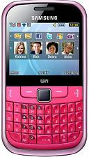 Samsung Ch@t GT-S3350 PINK UNLOCKED QUADBAND FULL KEYBOARD,WIFI,TEXTING PHONE