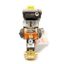 """Worcester 1"""" 1E4416TSE Actuated Ball Valve and & Indicator Falcon 2 Solenoid"""