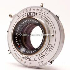 "Goerz Am. Opt. Co. APOCHROMAT Red Dot ARTAR 16 1/2"" f/9.5+ACME SYNCHRO No.4 - EX"