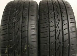 295 40 R 21 111W XL M+S Continental Cntact UHP MO 4.5mm+ K482 2954021 PW Tyre x2