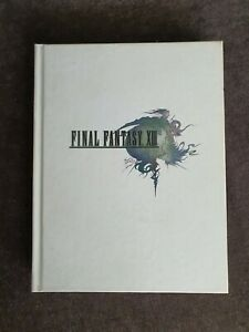 Final Fantasy XIII 13 Complete Official Guide Book Limited Collector's Edition