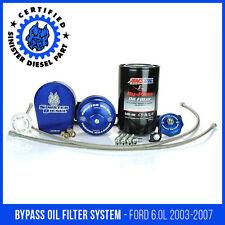 Sinister Diesel External Oil Filter System Ford Powerstroke 6.0