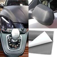 Auto Black DIY 3D Carbon Fiber Wrap Wall Paper Car Vinyl Film Sticker Decal
