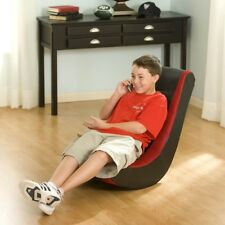 Rocker Gaming Chair Video Game Seat Rocking Furniture Game Red Kids Adult Teen