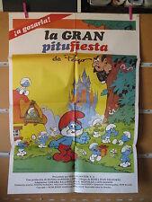 A1369 LA GRAN PITUFIESTA LOS PITUFOS PIERRE PEYO