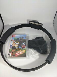 Ring Fit Adventure - Nintendo Switch (game + case + ring + leg strap)