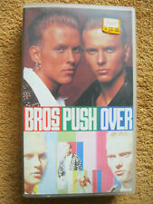 VHS Video Kassette Musik BROS Push Over When Will I Be Famous Drop The Boy