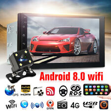 2 DIN Car 7'' Radio Stereo Android 8.0 Quad Core GPS WIFI MP5 Player For Toyota