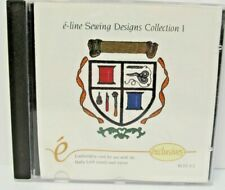 e-line Sewing Designs Collection 1 -Machine Embroidery Card Blec-C2