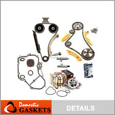 Timing Chain Kit VCT Selenoid Actuator Gear Water Pump Fits GM 2.2L 2.4L Ecotec