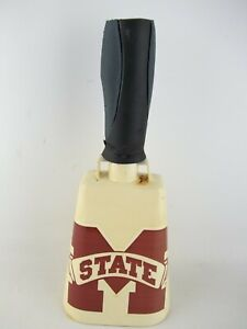 Vintage 1968-1972 Mississippi State University Bulldogs Cowbell, Football, HEAVY