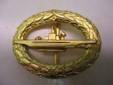 West German Navy Submarine Badge Pin Back