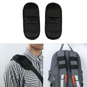 2Pc Anti Shock Shoulder Strap Belt Pad Fastener Cushion for Bag Backpack Satchel