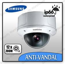 F6B Samsung SCC-C9302 EXTERNAL VANDAL RESISTANT Colour CCTV DOME CAMERA Outdoor