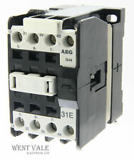 AEG SH4-31E-910-302-552-55 - 20a  Four Pole Control Relay 24vac Coil Un-used