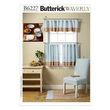 BUTTERICK  SEWING PATTERN CHAIR COER VALANCE CURTAINS B6227