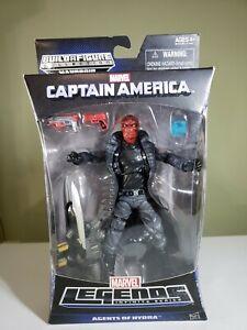 "Marvel Captain America, Legends, ""Agents of Hydra"" RED SKULL Figure"