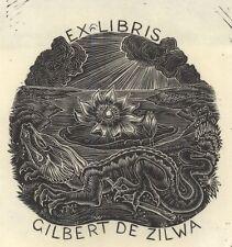 Ex Libris Thijs Mauve : Opus 7, Gilbert de Zilva