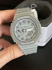 Casio G-Shock GA2110ET-8A CasiOak Earth Tone Gray Watch