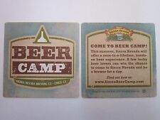 Beer Coaster <> SIERRA NEVADA Brewing Beer Camp <> Chico, CALIFORNIA Memorabilia
