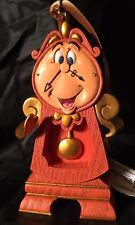 Disney Beauty And Beast Cogsworth Christmas Ornament New 2017