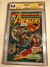 CGC 9.8 SS Avengers #132  signed by Lee, Englehart, Thomas & Staton White pages